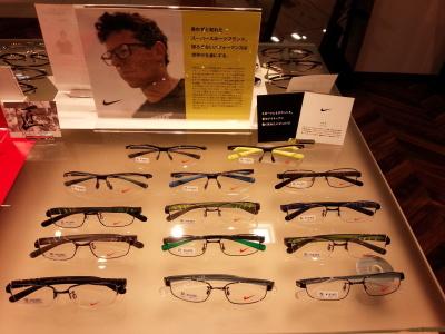 ナイキ,メガネ、眼鏡、めがね、スポーツ用、